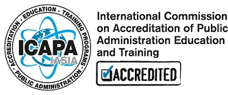 International Commission on Accreditation of Public Administration Education and Training Programs (ICAPA) logo
