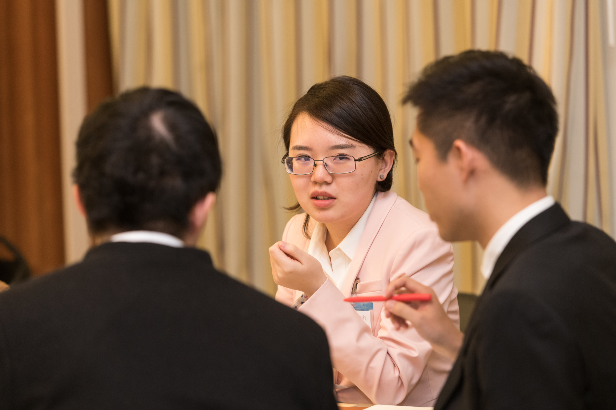 Peking University Students at AUC
