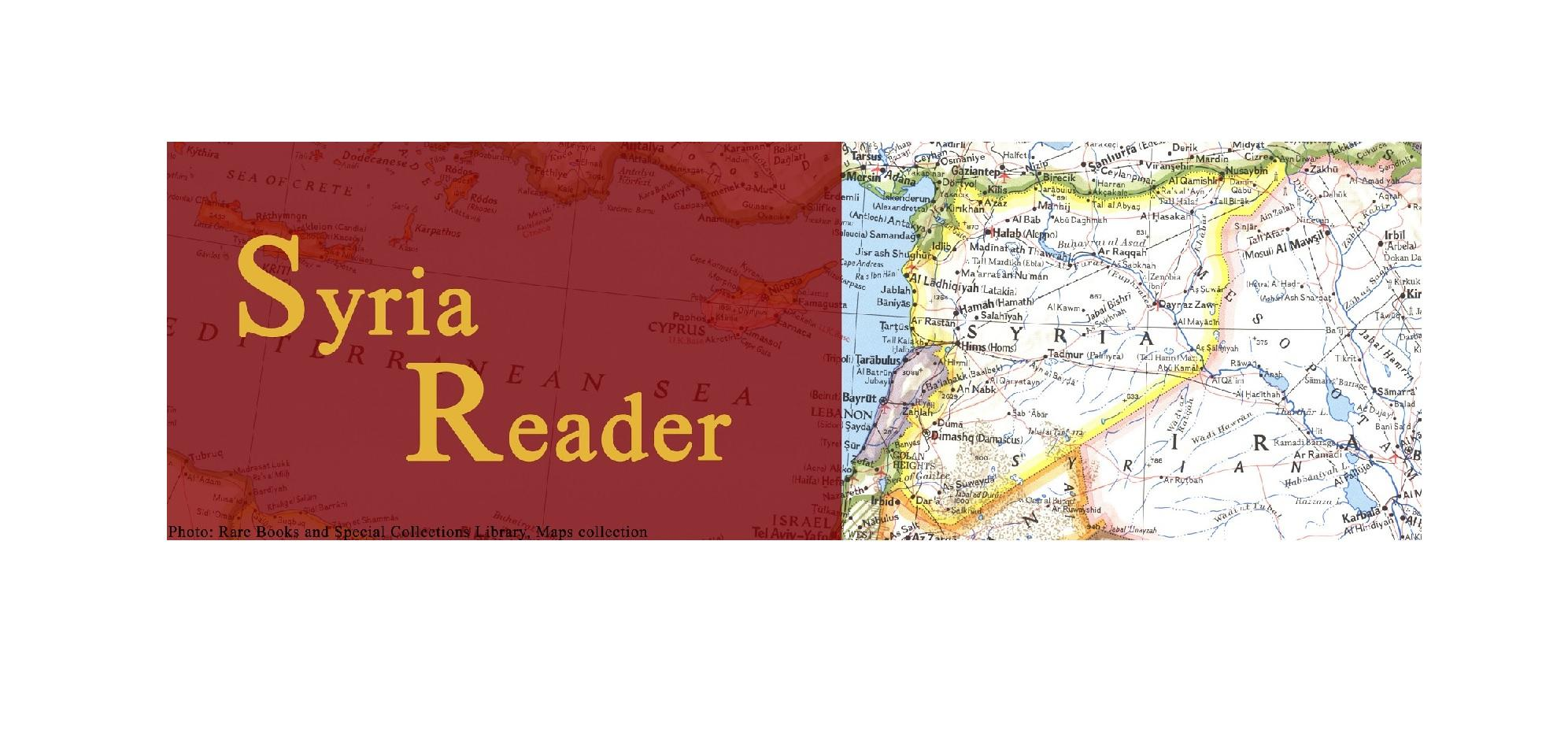 Syria Reader Articles