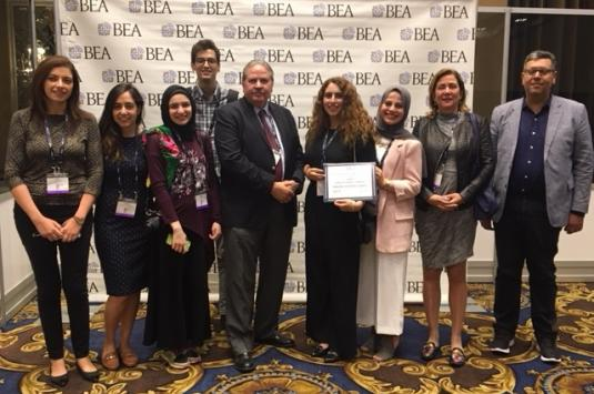 participants of BEA 2018 from AUC