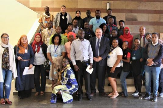 African Journalists Workshop group photo