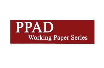 PPAD Working Paper Series